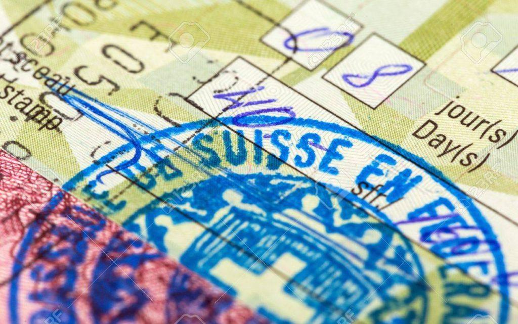 ویزای عبور سوئیس
