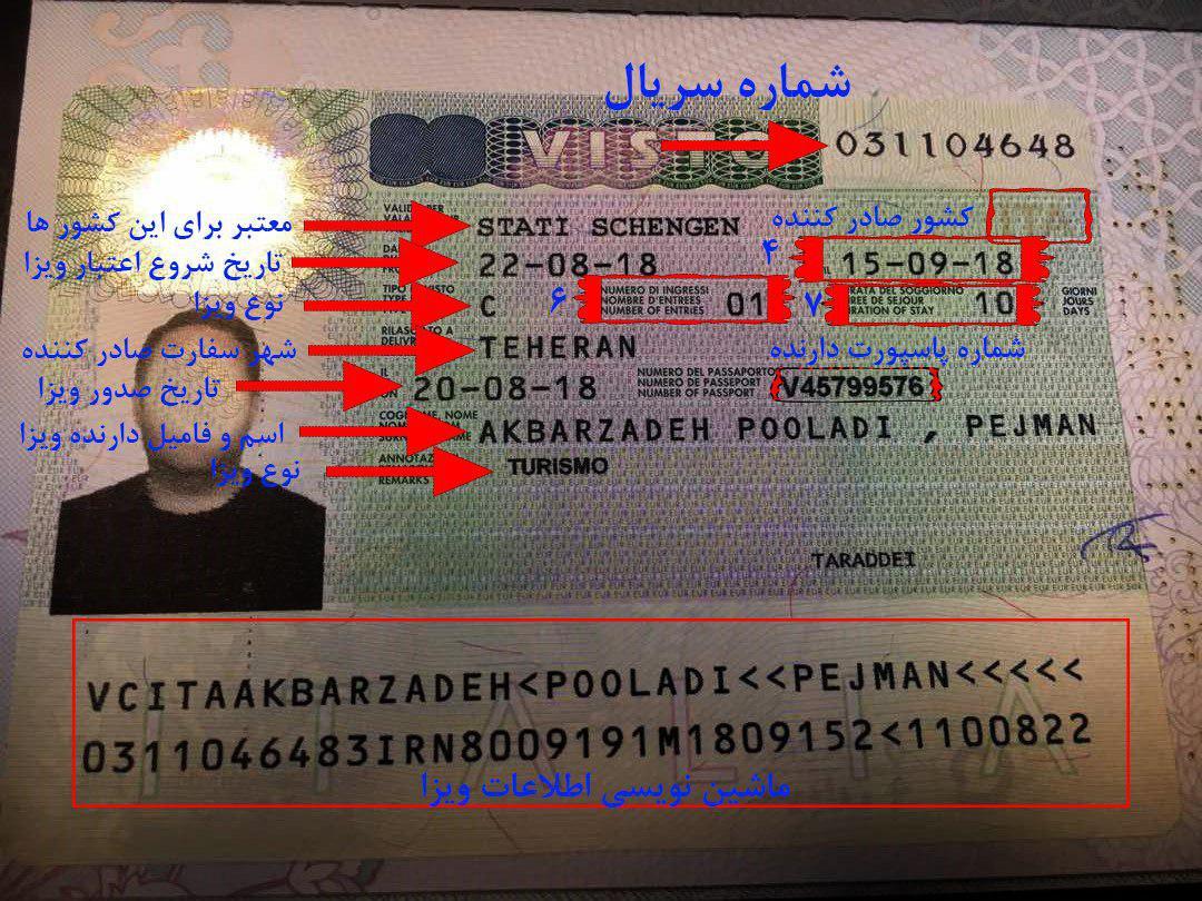 فرم اپلیکیشن سفارت یونان